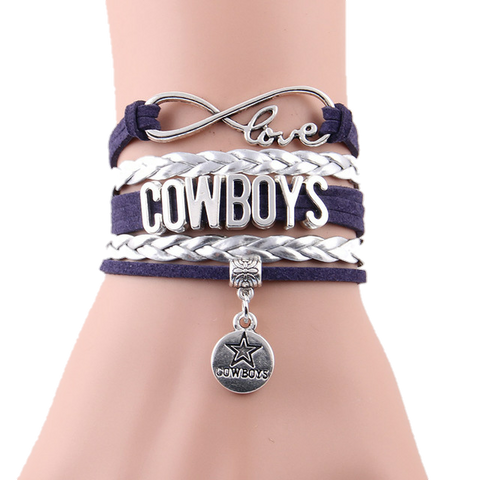 Cowboys Team Bracelet - Peachy Keen Boutique