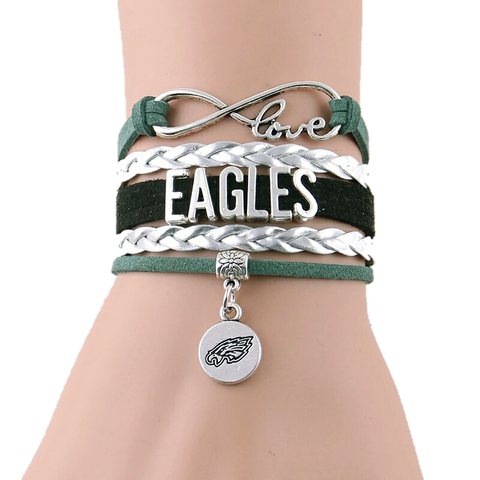 Eagles Team Bracelet - Peachy Keen Boutique