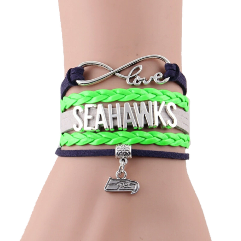 Seahawks Bracelet - Peachy Keen Boutique