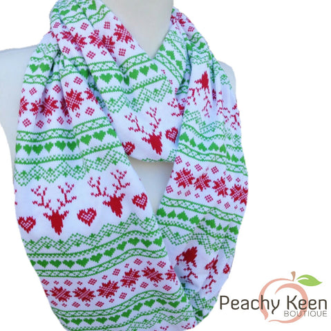 Holiday Scarf - Peachy Keen Boutique