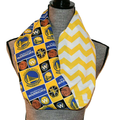 Warriors Scarf - Peachy Keen Boutique