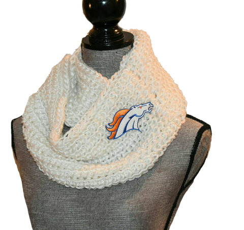 Broncos Knit Cowl - Peachy Keen Boutique