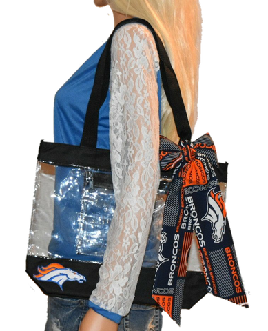 Broncos Tote - Peachy Keen Boutique