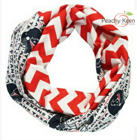Texans Scarf - Peachy Keen Boutique