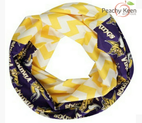 Vikings Scarf - Peachy Keen Boutique