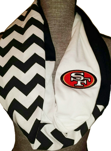 49ers Scarf - Peachy Keen Boutique