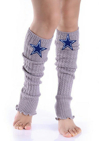 Cowboys Leg Warmers - Peachy Keen Boutique