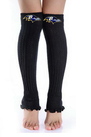 Ravens Leg Warmers - Peachy Keen Boutique