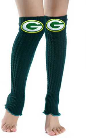 Packers Leg Warmers - Peachy Keen Boutique