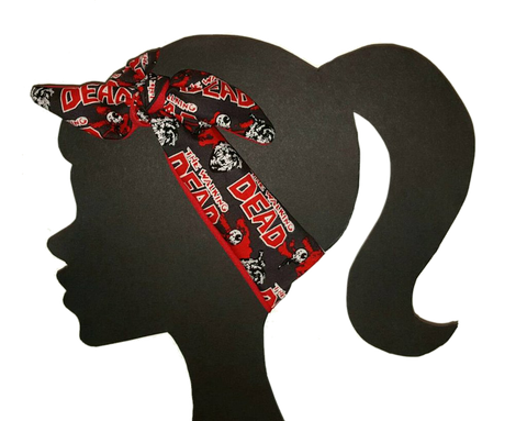 Walking Dead Headband - Peachy Keen Boutique
