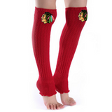 Blackhawks Leg Warmers - Peachy Keen Boutique