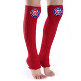 Cubs Leg Warmers - Peachy Keen Boutique