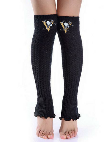 Penguins Leg Warmers - Peachy Keen Boutique