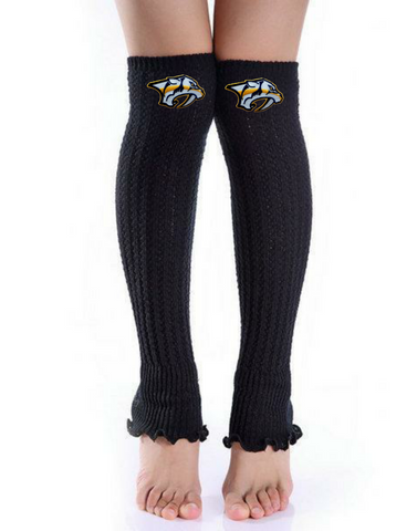 Predators Leg Warmers - Peachy Keen Boutique