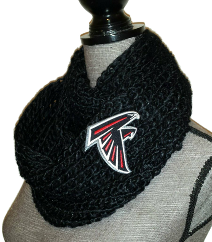 Falcons Knit Cowl - Peachy Keen Boutique