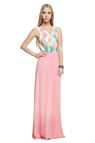 Be Noticed Maxi - Peachy Keen Boutique