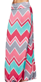 Chevron Maxi Skirt - Peachy Keen Boutique