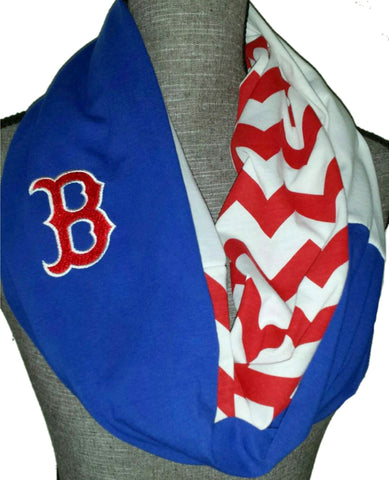 Red Sox Scarf - Peachy Keen Boutique