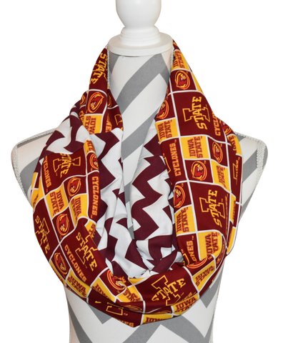 Iowa State Scarf - Peachy Keen Boutique