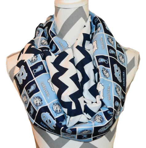Tar Heels Scarf - Peachy Keen Boutique