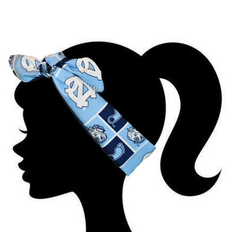 Tar Heels Headband - Peachy Keen Boutique