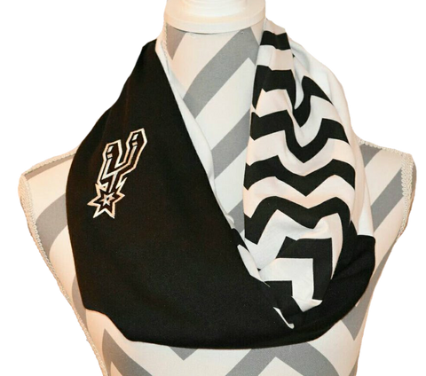 Spurs Scarf - Peachy Keen Boutique
