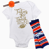 Denver Broncos Baby Outfit - Peachy Keen Boutique
