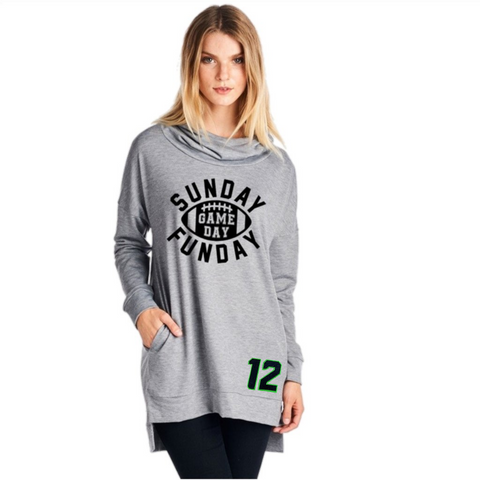 12th Man Sweatshirt - Peachy Keen Boutique