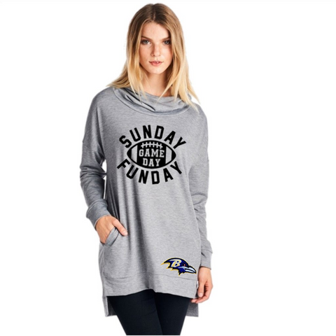 Ravens Sweatshirt - Peachy Keen Boutique