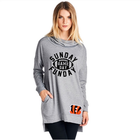 Bengals Sweatshirt - Peachy Keen Boutique