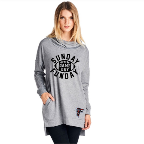 Falcons Sweatshirt - Peachy Keen Boutique
