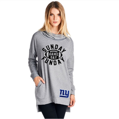 NY Giants Sweatshirt - Peachy Keen Boutique