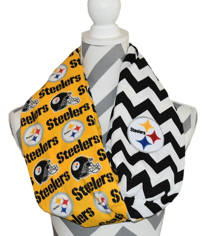 Steelers Scarf - Peachy Keen Boutique
