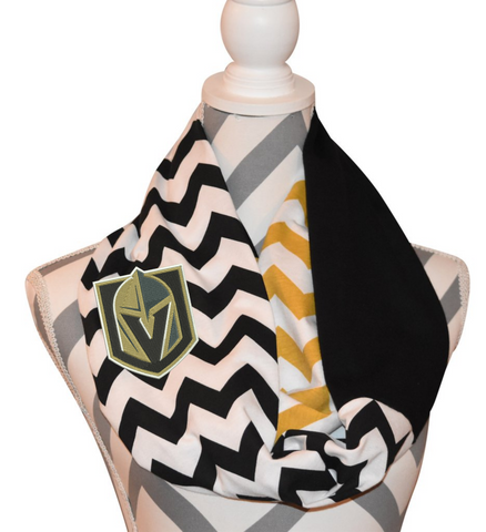 Vegas Golden Knights Scarf - Peachy Keen Boutique