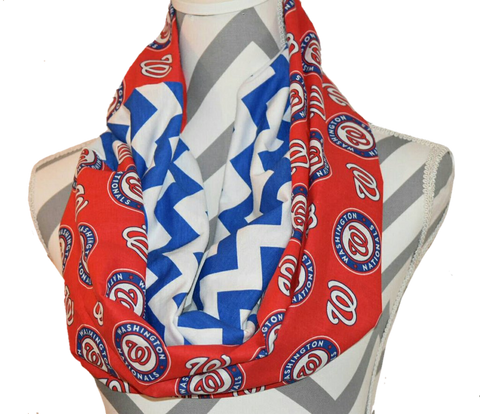 Washington Nationals Scarf - Peachy Keen Boutique
