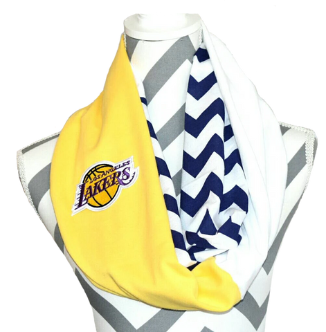 Lakers Scarf - Peachy Keen Boutique