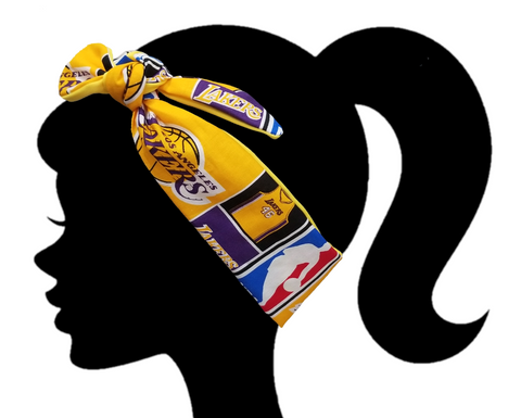 Lakers Headband - Peachy Keen Boutique
