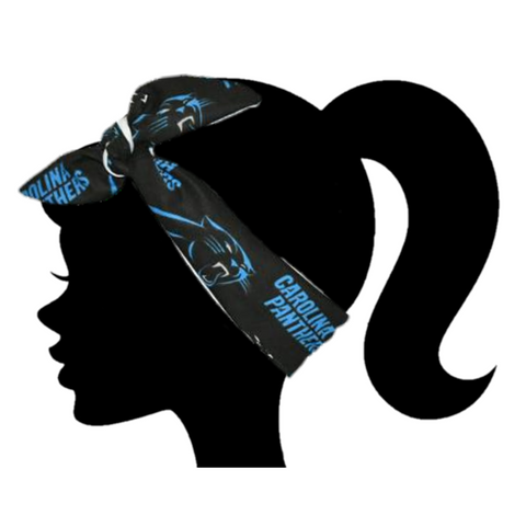 Panthers Headband - Peachy Keen Boutique