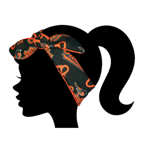 Orioles Headband - Peachy Keen Boutique