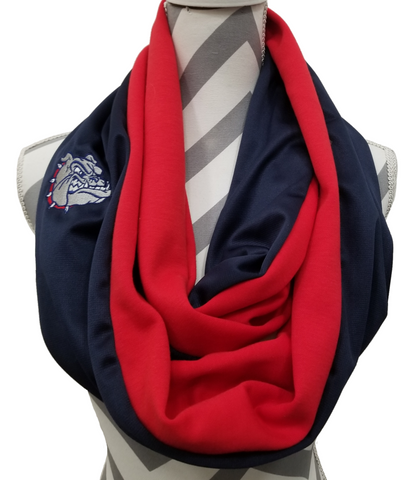 Gonzaga Bulldogs Scarf - Peachy Keen Boutique