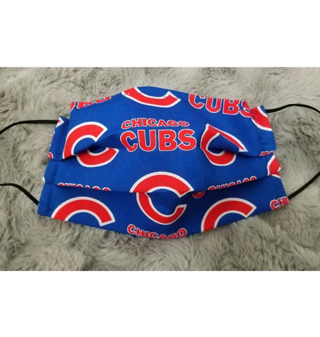 Cubs Face Mask - Peachy Keen Boutique