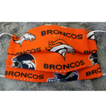 Broncos Face Mask