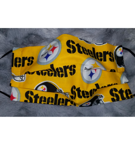 Steelers Face Mask - Peachy Keen Boutique