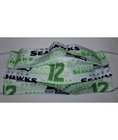 Seahawks Face Mask - Peachy Keen Boutique