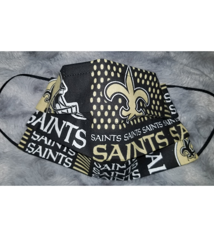 Saints Face Mask - Peachy Keen Boutique