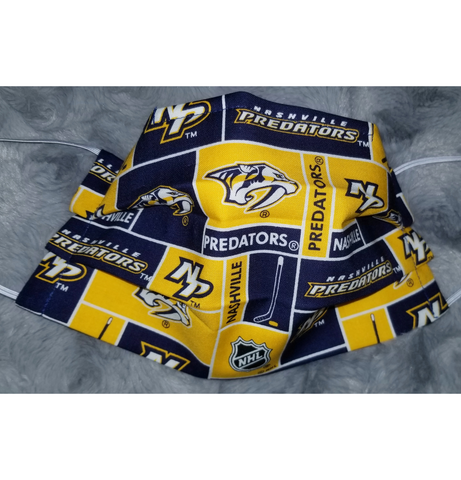 Predators Face Mask