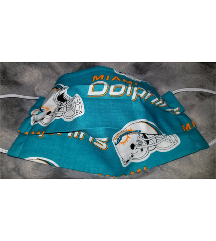 Dolphins Face Mask
