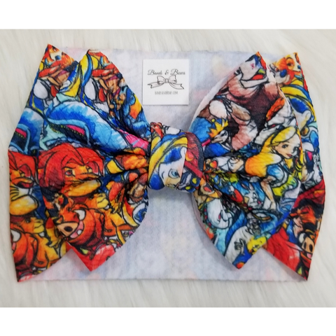Disney Characters Bow