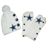 Cowboys Leg Warmers  and or Beanie