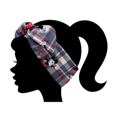 Disney Plaid Headband